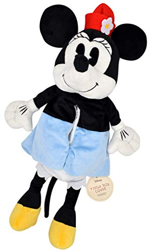 モリシタ Disney (ディズニー) ミニーマウス 壁掛けティッシュボックスカバー ぬいぐるみ 20×45cm 4620370