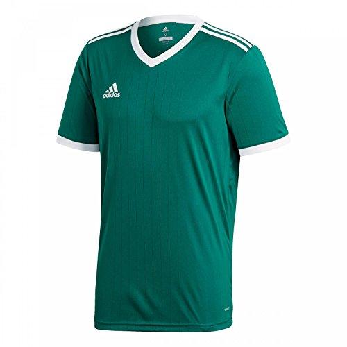 adidas Tabela 18 Jersey, T-Shirt Uomo, Verde, XL