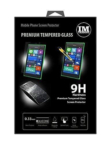 ENERGMiX Schutzglas kompatibel mit Nokia Lumia 730 Premium Tempered Glas Bildschirmglas Panzer Folie Schutzfolie