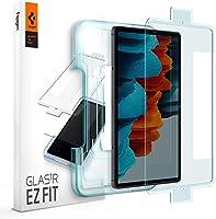Spigen Samsung Galaxy Tab S7 Cam Ekran Koruyucu Kolay Kurulum GLAS.tR EZ Fit Slim HD - AGL02032