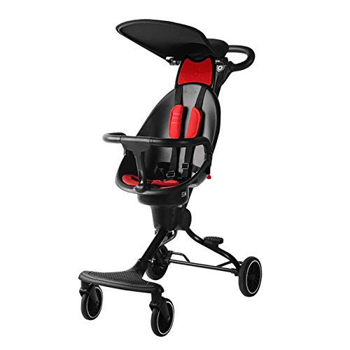 Bospyaf Implementación Bidireccional De Baby Stroller V5 One-Key Collection of Baby Stroller High Landscape Stroller,D