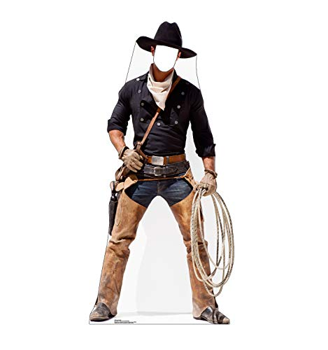 Advanced Graphics Cowboy Stand-in Life Size Cardboard Cutout Standup