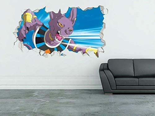 DQPCC Wandtattoos War Is 3D Wall Decal Kids Sticker Art Deco Vinyl Mural Huge