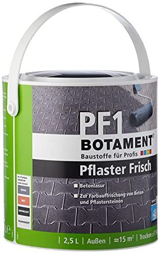 Botament 65100910155609 PF 1 Pflaster Frisch, Anthrazit