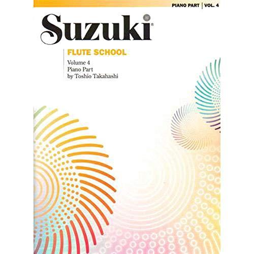 Suzuki Flute School, Vol 4: Piano Acc.