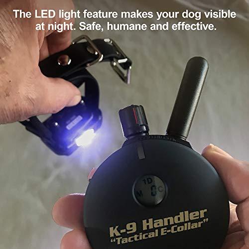 Educator K9-800 B33 K9 Handler 1 Mile Big Dog Remote Dog Training Collar, 33