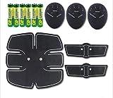 Abs Muscle Toner Fitness Trainer Estimuladores eléctricos Instrumento de Fitness Inteligente para Recibir Ejercicios Abdominales Desde casa Equipo de Fitness Muscular Ejercicio Sloth