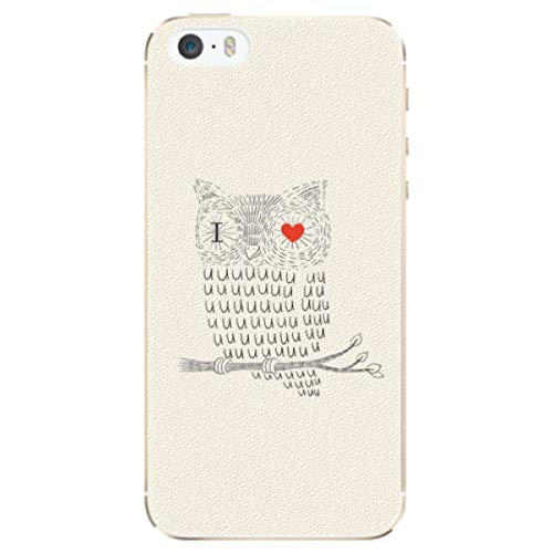 iSaprio - Custodia in plastica 'I Love You 01 compatibile con Apple iPhone 5/5S/SE