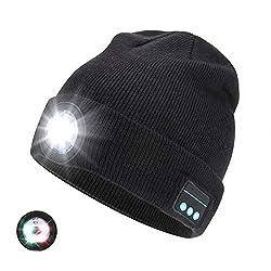 【Bonnet de phare LED amélioré】 Ce chapeau sans fil dispose de 5 LED haute lumière rechargeables, avec 3 modes de réglage mis à jour: 50% de luminosité, 100% de luminosité, lumières de secours rouges et bleues, vous pouvez choisir différents niveaux d...