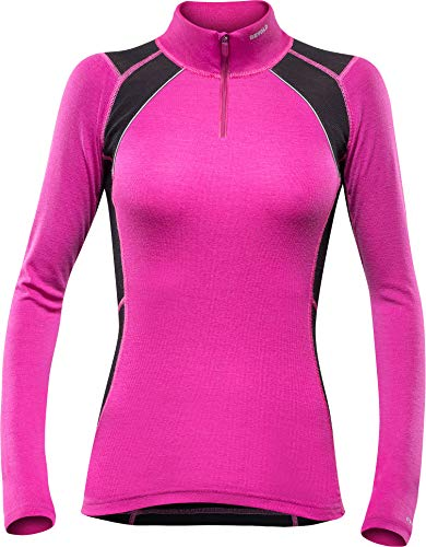 Devold Energy Woman Zip Neck Fuchsia XL