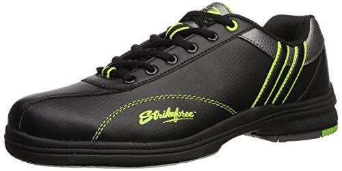 KR Strikeforce M-916-105 Raptor Bowlingschuhe, schwarz/limette, Größe 44