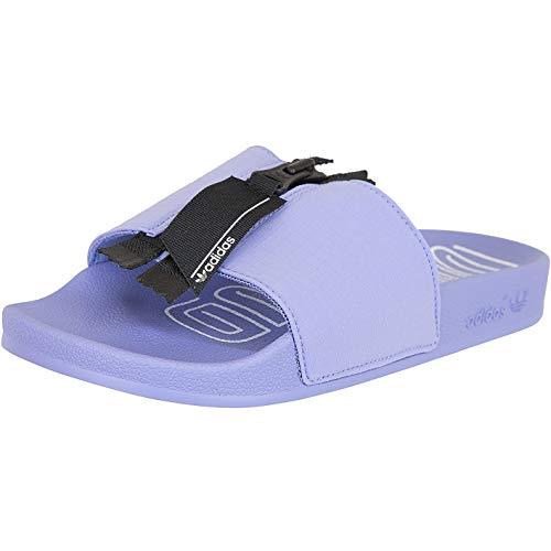 Adidas Zip Women Adilette - Ciabatte da bagno, Viola (Viola), 40.5 EU
