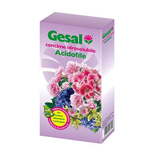 GESAL Concime Idrosolubile Acidofile, Per Fioriture abbondanti e prolungate, 350 g