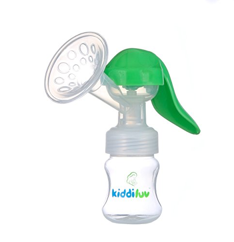 Kiddiluv Manual Breast Pump with Baby Bottle