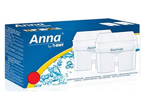 12 Anna Duomax Wasserfilter Kartuschen passend auch für Brita Maxtra