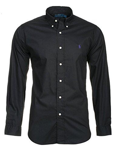 Chemise ralph lauren chemise pour homme, Noir, L