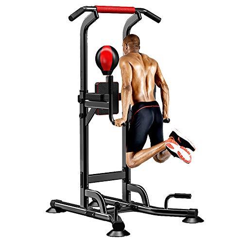 Power Tower Dip Station Barra de tracción,máquina de ejercicios boxeo fitness,equipo de...