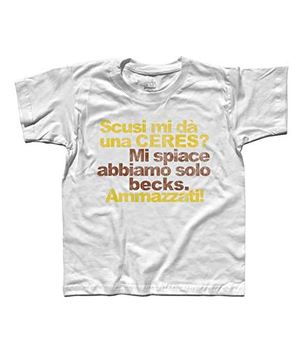 3stylershop T-shirt voor kinderen Scusi Mi geeft een ceres? - Ceres vs Becks.