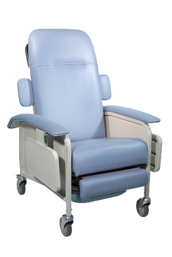 Drive Medical Clinical Care Geri Chair Recliner Blue Ridge
