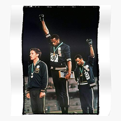 Peter John 1968 Smith Olympics African Tommie Political Carlos American Norman Athletes Home Decor Wall Art Print Poster !