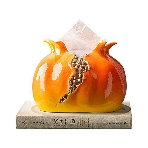 VINTAG Granada Creativa sostenedor del Papel de Tejido Facial Cubierta de la Caja, cerámica Titular de Papel higiénico dispensador de toallitas, servilletas de Gama Alta Organizador del envase de