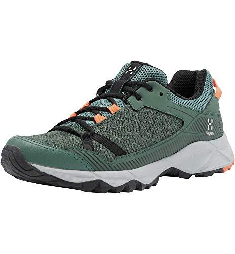 Haglöfs Trail Fuse, Zapatillas para Correr Mujer, 4KQ-Dk Agave Green/True Black, 40 EU