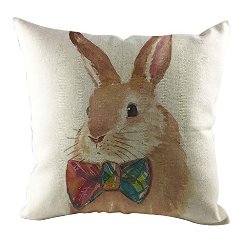 1pcs Easter Sofa Bed Home Decoration Festival Pillow Case Cushion Cover, Pillow Case, For Valentine's Day, Easter, St. Patrick's Day