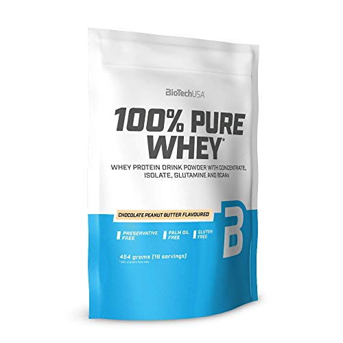 BioTechUSA 100% Pure Whey Powder, Chocolate Peanut Butter