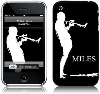 MusicSkins Miles Davis Sketch Black for Apple iPhone 2G/3G/3G S