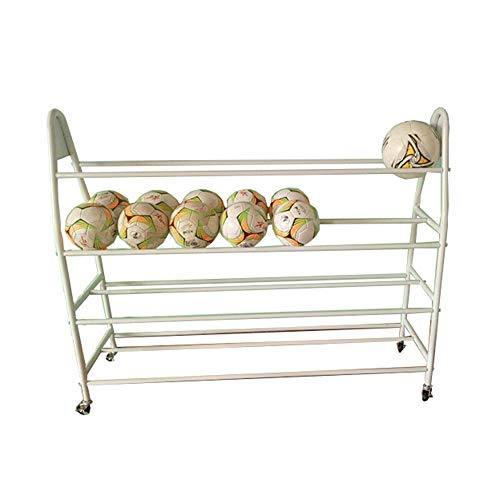 Fantastic Prices! Sports Ball Storage Basketball Sports Equipment Storage Rack Organizers of Sports ...