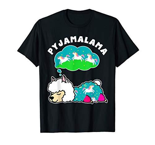 Pyjama Lama Pyjamalama Alpaka Llama Alpaca Shirt
