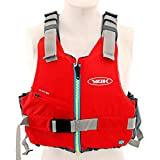 Yak Kayak & Kayaking - Kallista Kayak 50N Kayak Dinghy Sailing PFD Buoyancy Aid for Watersports RED - Flash...