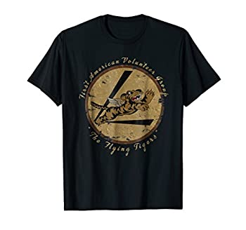 Flying Tigers Squadron  WWII Vintage Insignia T-Shirt