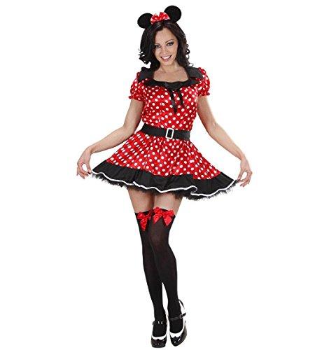 Widmann Fille Souris - Adulte Costume de déguisement