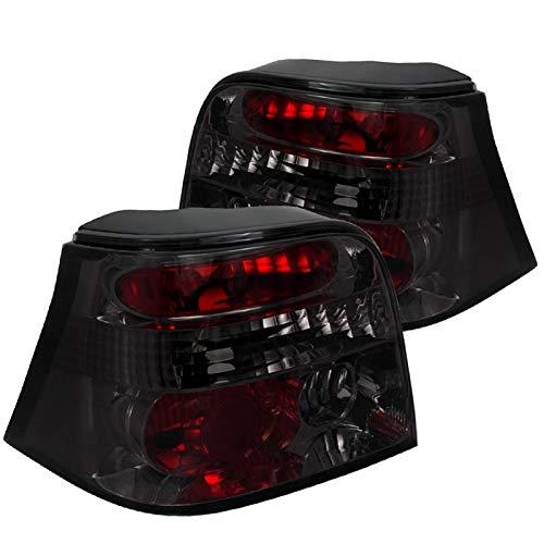 Spec-D Tuning LT-GLF99G-TM Volkswagen Golf Gl Gls Gti Vr6 Hatchback Smoked Tail Lights
