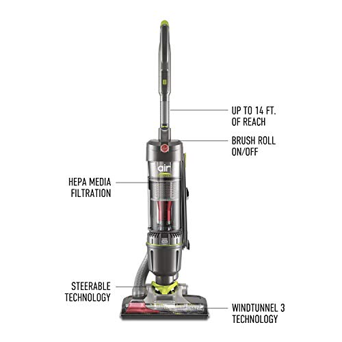 Hoover UH72400 Windtunnel Air Steerable Bagless Upright Vacuum Cleaner