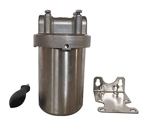 INTBUYING 304 Stainless Steel Water Filter Housing 5