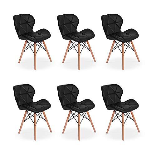 Cadeiras Charles Eames Eiffel Estofada