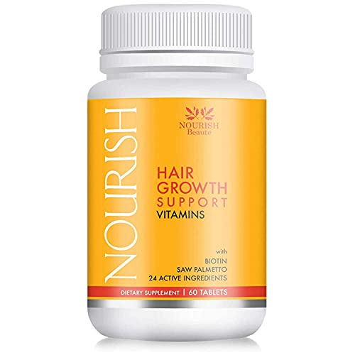 Nourish Beaute Hair Vitamins for Hair Loss and Thinning That Promotes Regrowth for Men and Women, 1...