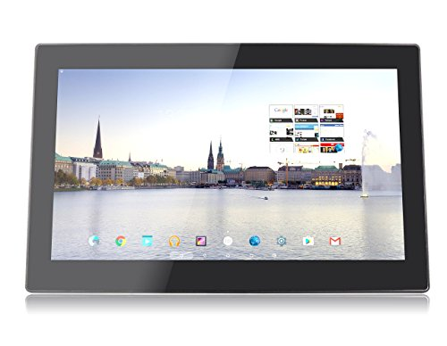 Xoro MegaPAD 1564 V2 39,6 cm (15.6 Zoll) Tablet-PC (QuadCore Cortex A17 1.8GHz, 2GB RAM, 16GB Flashspeicher, IPS 1920x1080, WLAN (2.4/5GHz), Bluetooth 4.0, Android 5.1, 12V DC ohne Akku) schwarz