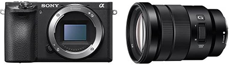 Sony Alpha a6500 Mirrorless Digital Camera w/SELP18105G E PZ 18-105mm F4 G OSS