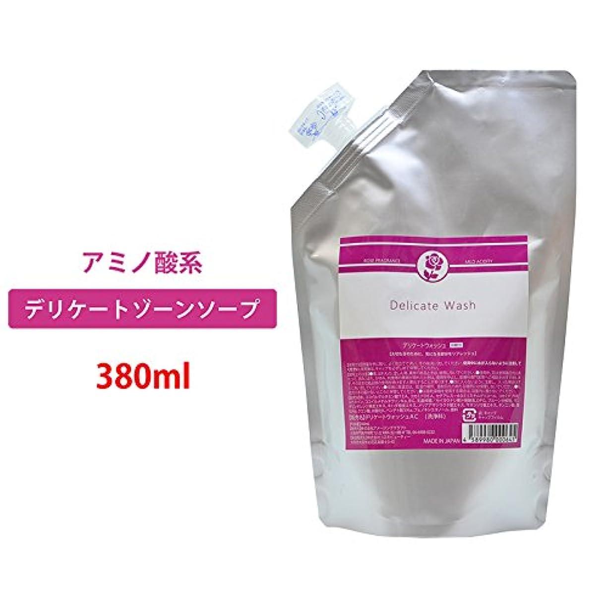 つまずく委託書誌デリケートウォッシュ 日本製デリケートゾーンソープ たっぷり380ml フェミニン ウォッシュ