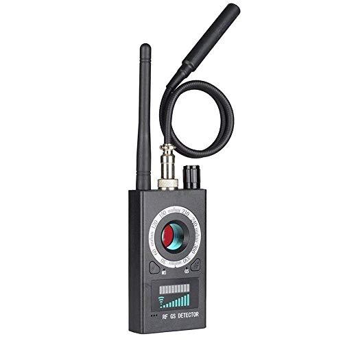 XFHLL RF-Scanner, Sicherheits RF Bug Anti Candid Camera Detector-Signal-Detektor Frequenz-Scanner, Für Home/Office/Business-Tracker Wireless-Signal-Detektor