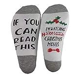 dfhdrtj Zuverlässige Personalisiert Socken Brief Bedruckt Socken wenn Du Dieses Lesen Kannst...