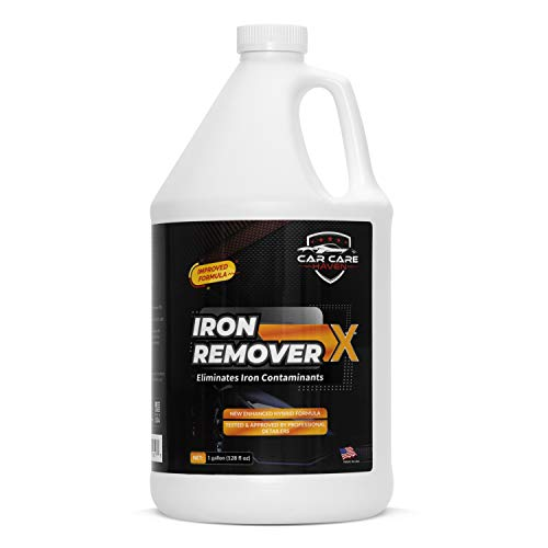 Car Care Haven Iron Remover X (Gallon) Iron Out Fallout Wheel Rust Remover Spray & Car Cleaner. Does Not Change Colors. Remove Iron Particles in Car Paint, Motorcycle, RV & Boat. Use before Clay Bar.