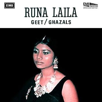 Geet/Ghazals - Runa Laila