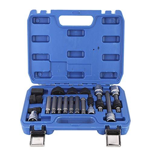 Gancon 18Pcs/Set Demontage-Kit für Auto-Generator-Riemenscheiben-Demontage für die Kfz-Reparatur