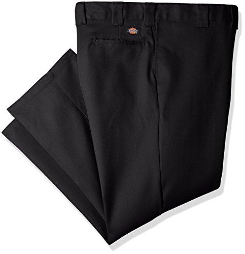 Dickies Men's 874 Big and Tall Flex Work Pant, black, 48W x 32L