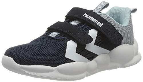 hummel Unisex-Kinder Pioneer JR Sneaker, Black IRIS,33 EU