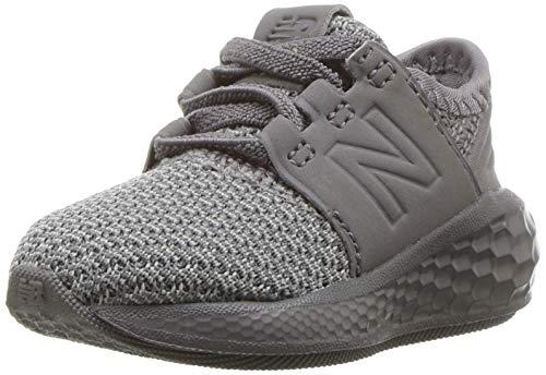 New Balance Kid's Fresh Foam Cruz V2 Running Shoe, Grey, 2 W US Infant